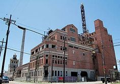 Falstaff Brewery in New Orleans, Louisiana.