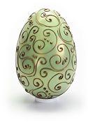 Large Filigree Egg with Chocolates