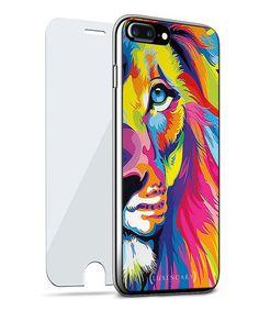 Look at this #zulilyfind! Colorful Lion iPhone Case #zulilyfinds