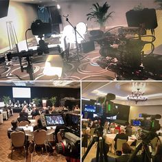 #behindthescenes #filming a #corporateevent in #miamibeach using #canonc300mk2 on Miller tripod w/ #canon5dmarkiii on Edelkrone slider for #interviews & 2x #canonxf105 w/ Sandisk SD cards on Manfrotto tripods & video heads for #conference  • For more info: AnthonyDigitalMedia.com •  #filmmaker #filmmaking #filmlife #filmproduction #producer #producerlife #videographer #videography #videomaker #videoshoot #videoproduction #camera #cameraready #cameraman #miami