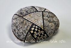 zentangle stone