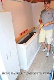 Living Beautifully...One (DIY) Step At A Time: Eat my (saw)dust