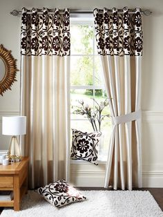 Decadence Faux-Silk Eyelet Curtains | very.co.uk