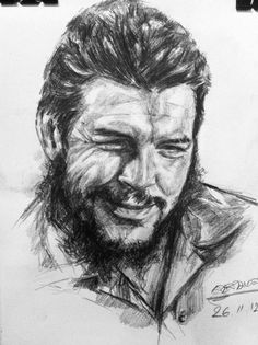 Che drawing by siriwarn