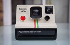 Vintage Polaroid Camera- Fun