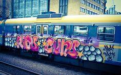 Künstlerisch Graffiti Wallpaper