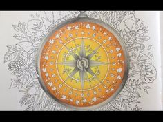 ENCHANTED FOREST Johanna Basford - color tutorial part 2 - YouTube