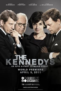 LOVE this - the kennedys mini-series.. pretty sure it's on netflix. everybody go watch it!