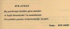 Ece ayhan #eceayhan