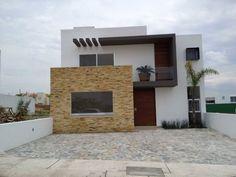 Busca imágenes de diseños de Casas estilo Moderno}: Fachada . Encuentra las mejores fotos para inspirarte y y crear el hogar de tus sueños.