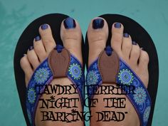 """@TawdryTerrier """"Night of the Barking Dead"""" - only 2 bottles available at https://www.etsy.com/shop/TawdryTerrier #nailpolish #indienailpolish #tawdryterrier #halloween"""