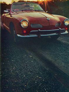 VW Karmann Ghia Sales Brochure, 1969