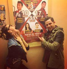 #MelitaToniolo Melita Toniolo: Stasera io e @lorebranchetti siamo in scena con #9mesie1giorno a Verona (teatro ss trinità) ...abbiamo provato fino a tardi e ora si ricomincia..ma io sono attratta dal 10 marzo..non so perchè.. #mylife #mylove #love #life #work