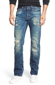 PRPS  Demon - Esther  Slim Straight Leg Jeans (Indigo) available at   42853f42dd
