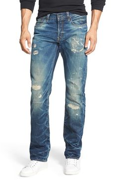 PRPS 'Demon - Esther' Slim Straight Leg Jeans (Indigo) available at #Nordstrom
