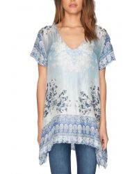 Johnny Was PEPIN Tunic-These colors are so fresh with jeans or white skinnies