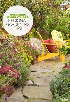 Get gardening tips specifically for your region: http://www.bhg.com/gardening/gardening-by-region/gardening-where-you-are/?socsrc=bhgpin052814regionalgardening