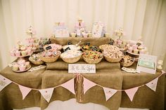Cheshire Sweet Stall – Sweetie and dessert table