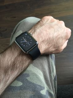 Army style Apple Watch.