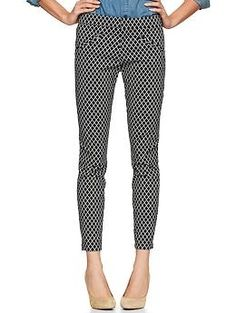 I discovered this Printed ultra skinny pants   Gap on Keep. View it now.