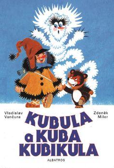 Kubula and Kuba Kubikula Retro Illustration, Illustration Children, Illustrations, Children's Picture Books, Typography Prints, Childhood, Drawings, Artwork, Painting