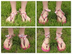 In spring and summer my feet are definitely most comfortable in flip flops, but they can get a little boring. With just a little refas...
