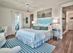 If you're a devotee of Coastal Living magazine, you might recognize this dreamy beach house! The WaterSound, Florida retreat designed by architect Geoff Chick and built by Chris Clark was fea…