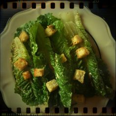 The Original Caesar Salad, Julia Child's Recipe #CookForJulia