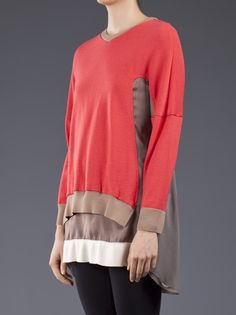 UNDERCOVER - Sheer back sweater 3