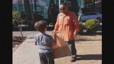 Heartwarming Exchange Between Trash Collector and Autistic Boy Goes Viral - ABC News