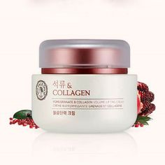 The Face Shop Pomegranate and Collagen Volume Lifting Cream 100ml / 3.38oz #TheFaceShop #333korea #skincare #beauty #koreacosmetics #cosmetics #oppacosmetics #cosmetic #koreancosmetics