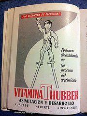 Vía @DiSalud #AnunciosOld #Vintage Vitamina T-Hubber
