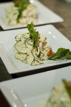 Raw food fettucine.  No recipe in link but it does take you to rawfoodvancouver.com and a recipe of the day