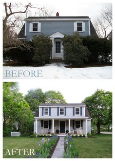 Superb Bare To Beautiful Room Makeover Series. Weird HousesExterior RemodelFront  ...