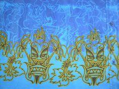 Mens 2XL XXL No Boundaries s s Hawaiian Theme Shirt Blue Tiki Design | eBay