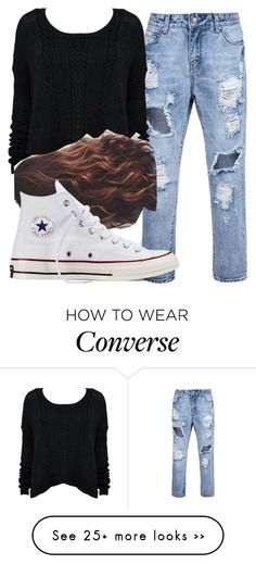 """""""Untitled #5900"""" by assexyaswesley on Polyvore featuring Converse"""