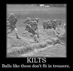 That Explains the Kilts