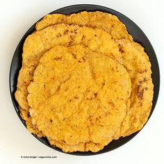 Yeast-free Sweet Potato Vegan Gluten free flatbread - Vegan Richa