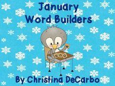 January Word Builders Freebie Pack!