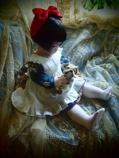 TENちゃんのお洋服その一、完成。ロラスも始まりました。 : ガーナベイビーズ