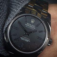 Rolex Milgauss in Black Titanium