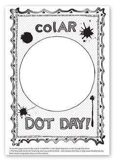 16 Best A International Dot Day images in 2019