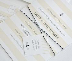 Portside Wedding Invitation Suite