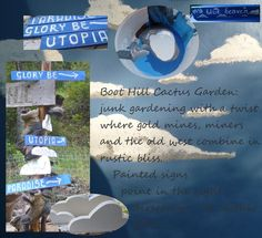 Looking for great garden sign sayings for junk gardens?  Here are some, and you can even add your own...