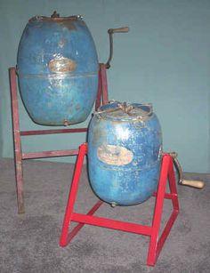 Metal Barrel Churns
