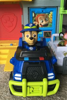 Paw Patrol CHASE JUNGLE RESCUE Vehicle Toy