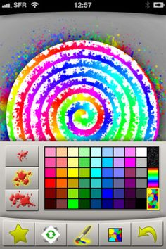 SpinArt  iPhone / iTouch