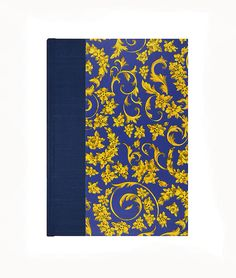 Journal Blank Paper Royal Blue by WolfiesBindery on Etsy