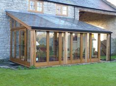 Garden room conservatory Images of our finished conservatories, orangeries, and garden rooms House Extension Design, Glass Extension, Garden Room Extensions, House Extensions, Backyard Patio, Backyard Landscaping, Outdoor Rooms, Outdoor Living, Lean To Conservatory