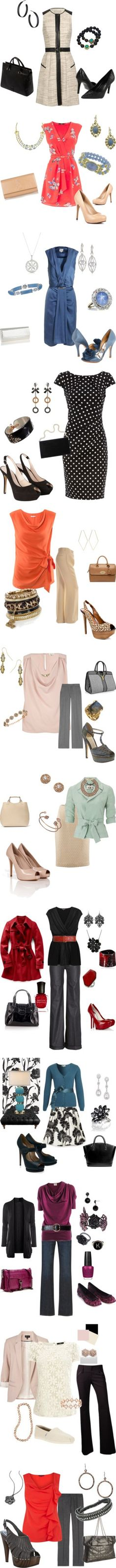 """Time for work"" by kaye-hawkins ❤ liked on Polyvore"
